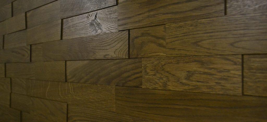 Деревянная 3D плитка